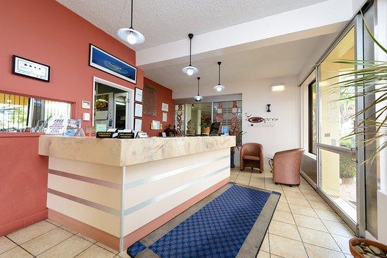 Country Comfort Bundaberg: Reception