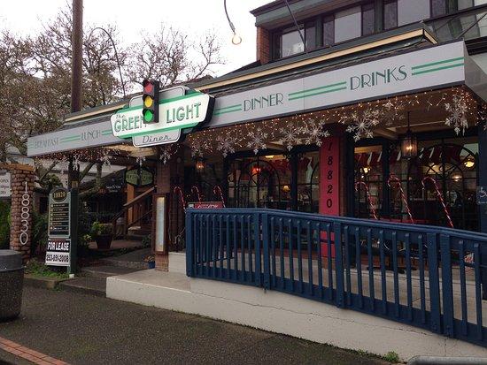Poulsbo, واشنطن: Green Light Diner