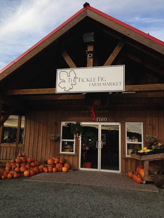 North Saanich, Canadá: Fickle Fig Farm Market