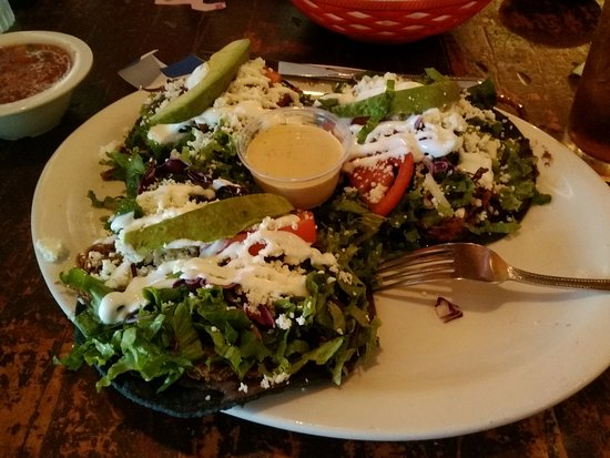 Cedar Hill, Τέξας: Blue corn tortillas and fabulous chalupas