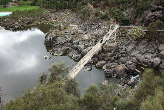 Launceston, Australia: 吊り橋