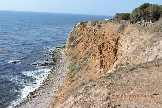 Rancho Palos Verdes, Kalifornien: Point Vicente Lighthouse另一辺海岸