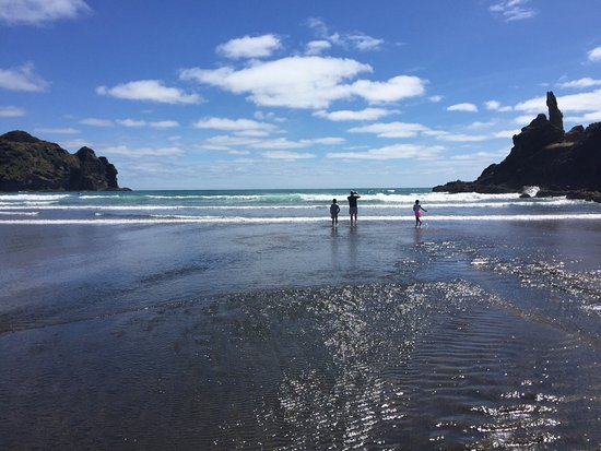 Piha, New Zealand: Seems to go on forever..