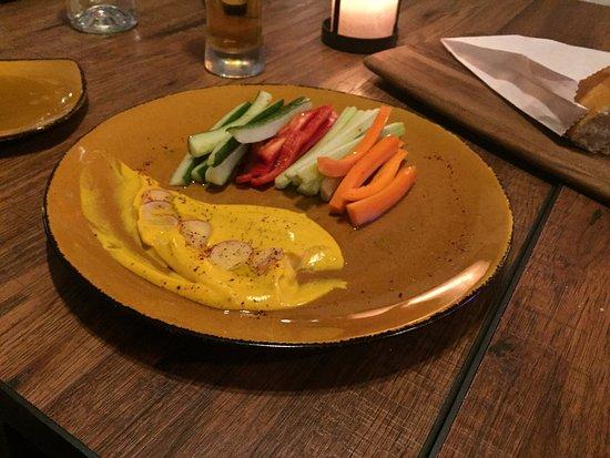 Kingston, Массачусетс: Butternut Squash Hommus and Veggies