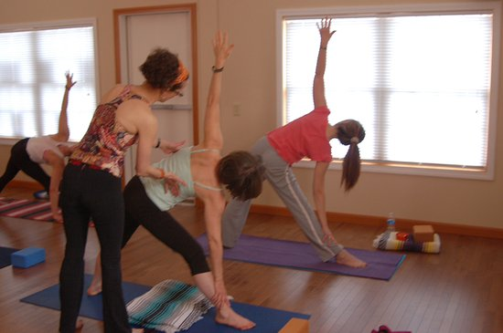 Norway, ME: All experience levels are welcome at our yoga classes.