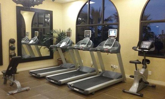 Hotel Encanto de Las Cruces: Fitness room