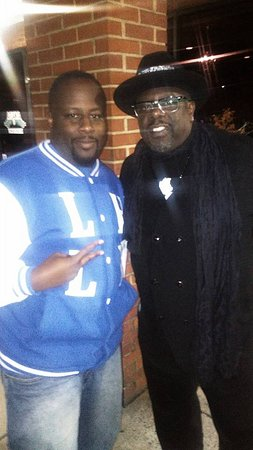 Norcross, GA: With one of the kings of comedy Cedric the Entertainer