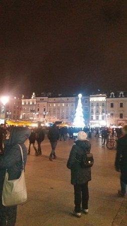 Wielopole Hotel : Piazza del Mercato - I mercatini natalizi