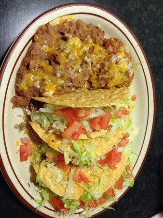 Cuba, Nuevo Mexico: Taco plate