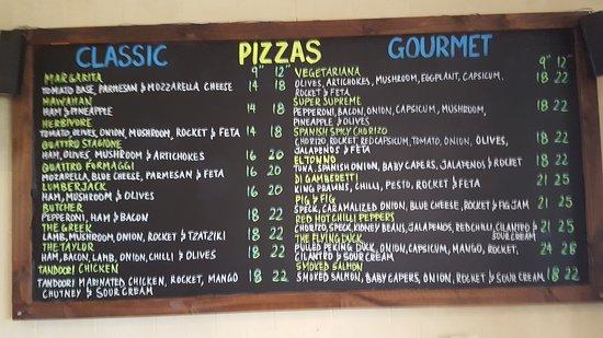 Vacy, Australia: Pizzas