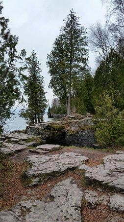 Sturgeon Bay, WI: Rocks galore