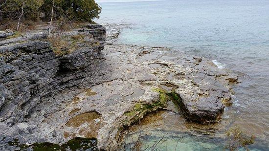 Sturgeon Bay, WI: More rocks