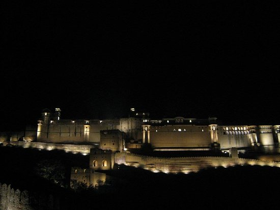 Cool Nahargarh Fort Light & Sound show at Amber Fort In 2018 - Elegant black light show In 2018