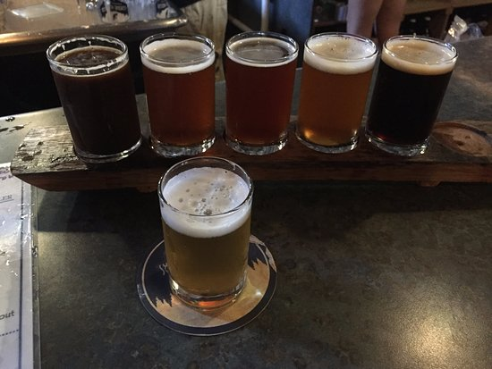 Amherst, Wisconsin: Bier-Sampler