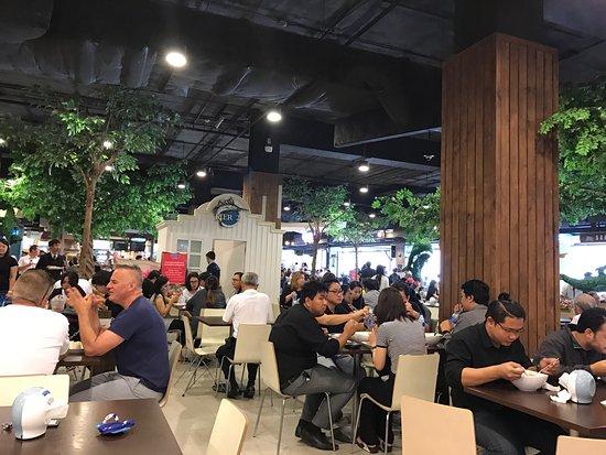 pier 21 food terminal busiest food court around