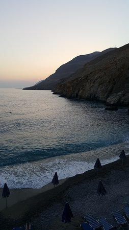 Sfakia, Greece: Vrissi beach