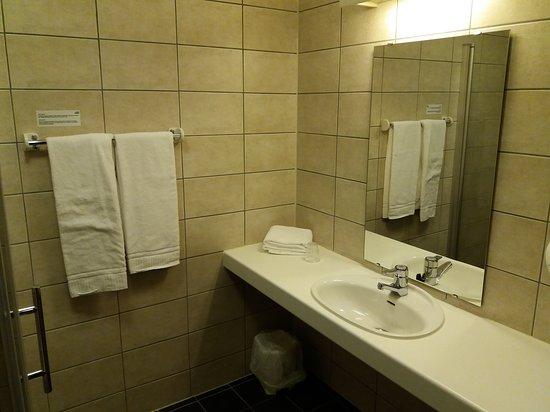 Moss, Norwegia: Stort rom og godt bad