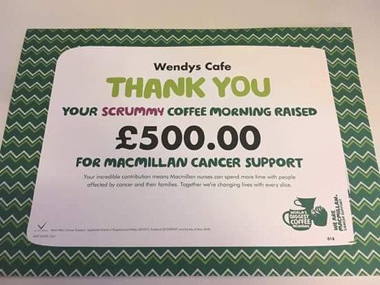 Abergavenny, UK: Wendy's cafe