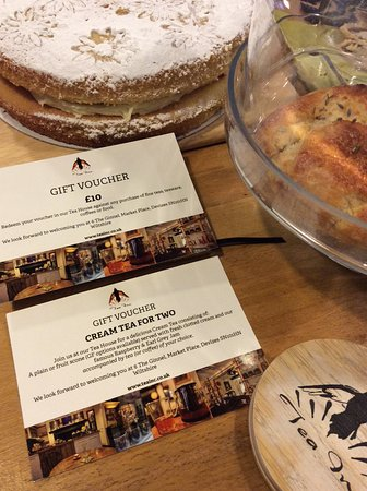 tea inc gift vouchers for sale in the shop