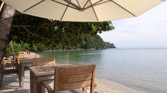 Cape Panwa, Tailandia: Mesas