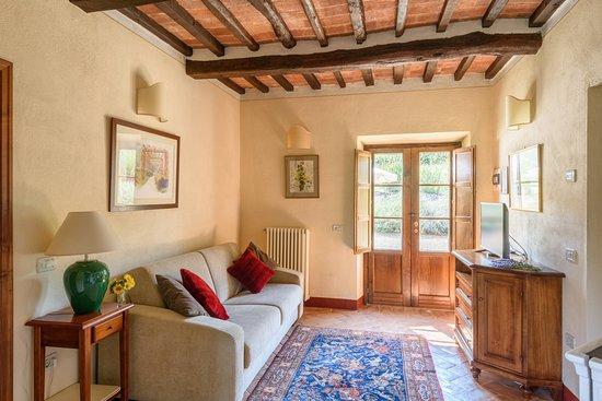 Castiglion Fiorentino, Italia: Part of Funghini suite