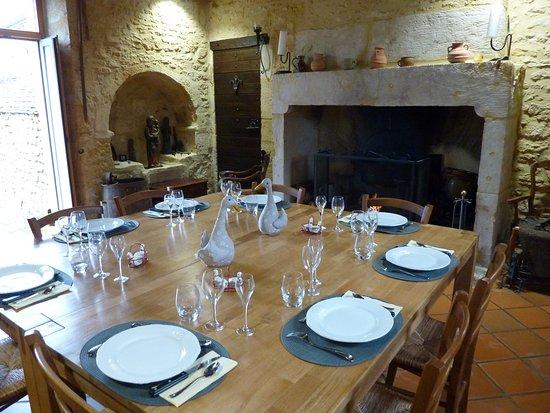 Castels, Франция: la salle à,manger