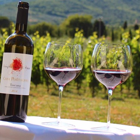 Castiglion Fiorentino, Italy: Portagioia wine: Semplicemente Rosso -
