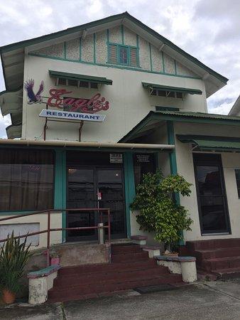 Maraval, île de la Trinité : Eagle's Restaurant