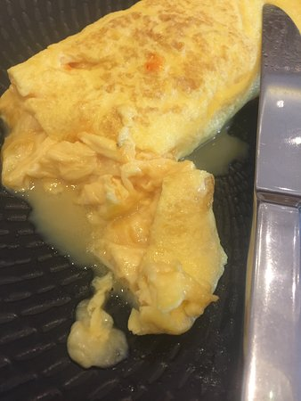 Disgusting food  Raw omelette - Picture of JW Marriott Hotel