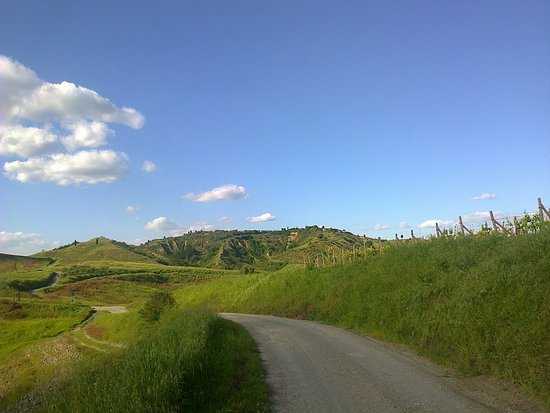 la strada per CertaldoAalta
