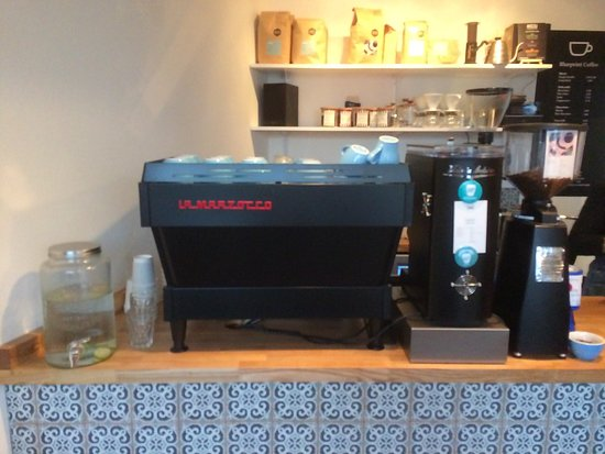 Blueprint coffee machine picture of blueprint coffee whitstable blueprint coffee machine malvernweather Gallery
