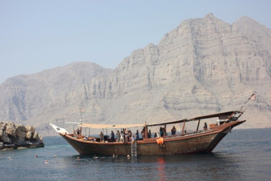 Musandam Governorate, Omán: Dhow Cruise in Musandam