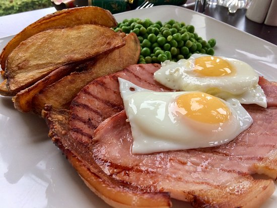 Northop Hall, UK: Gammon and Eggs