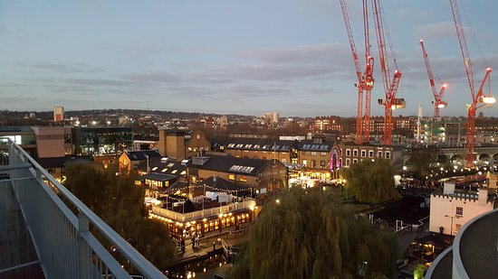 Holiday Inn London - Camden Lock: Excellent views from the penthouse rooms