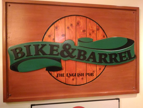 Bike & Barrel Bar : Bike& barral