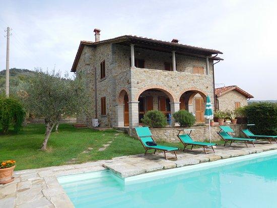 Castiglion Fiorentino, İtalya: Villa Sanaia