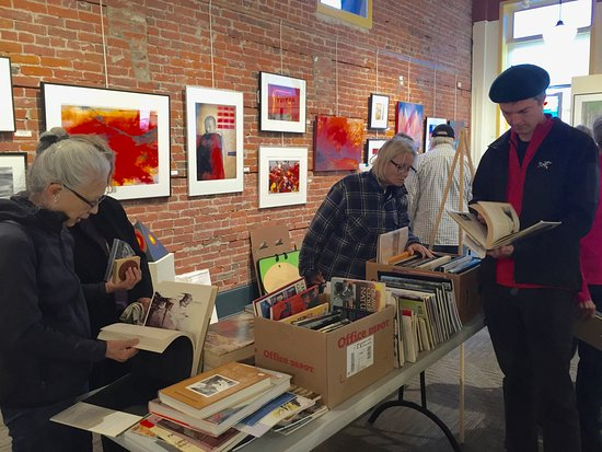 Northwind Arts Center: Northwind's annual art supply sale in the Artist Showcase 2016