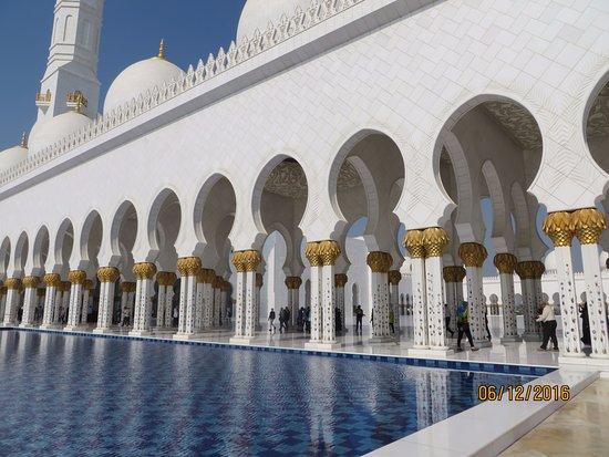 Emirate of Abu Dhabi, Förenade Arabemiraten: el zayed moschea stupenda!!!