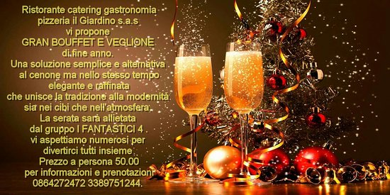 Pratola Peligna, อิตาลี: Bouffet e veglione di fine anno