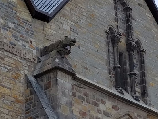 Number One Paderborn one of the spouts picture of paderborn cathedral dom zu