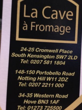 la cave a fromage notting hill london notting hill. Black Bedroom Furniture Sets. Home Design Ideas