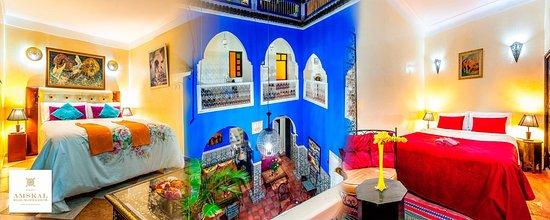 Riad Amskal: riad et chambres