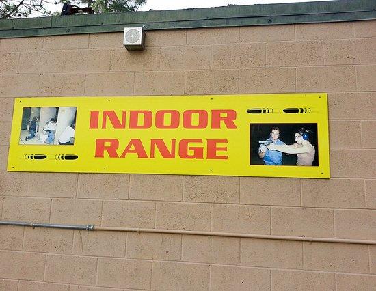 El Cajon, CA: Indoor range
