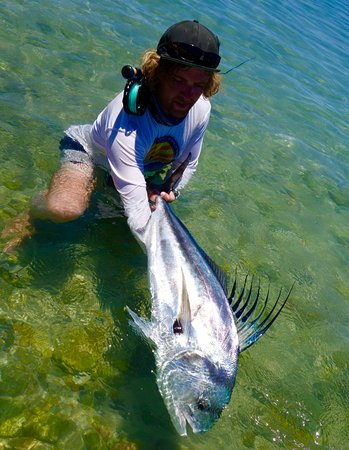 Los Barriles, Mexico: Fly caught trophy roosterfish with Pursuit Anglers