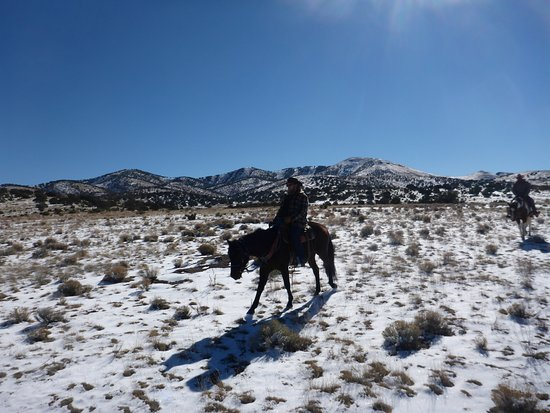 Magdalena, NM: Riding the range on Captain Jack!