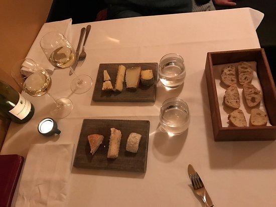 La Mirabelle : Abends in Hamburg, in der Messe Nähe, ein kleines sehr feines Restaurant... Essen sehr gut, Ambi