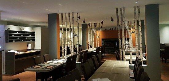 Anhée, Belgia: Salle du restaurant
