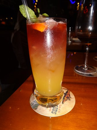 A whiskey tail from the festive menu - Picture of Trader Vic's ... on