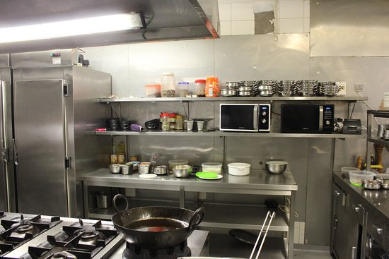 Restaurant kitchen Fancy Namaste Indian Restaurant Kitchen Smartdraw Kitchen Picture Of Namaste Indian Restaurant Funchal Tripadvisor