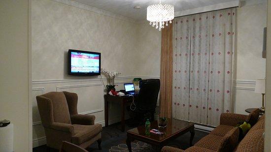 Parc Suites Hotel: Linving Room